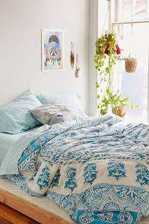 Bohemian Chic Bedding plum & bow kerala medallion comforter snooze set | bedroom beach