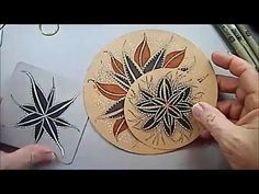 Squill Tangle Pattern Lesson by Melinda Barlow CZT