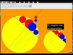 Mathémagique: Sangaku : 2 cercles tangents inscrits dans un carré