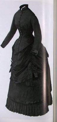 1883, day dress.