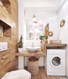Modern Laundry Rooms, Laundry Room Bathroom, Laundry Room Design, Modern Bathroom, Small Bathroom, Bathroom Vinyl, Bathroom Ideas, Bath Room, Master Bathroom