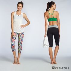 A comfy, cute  hardworking outfit like the Lima Capri  Leon Tank are perfect for Hiking!