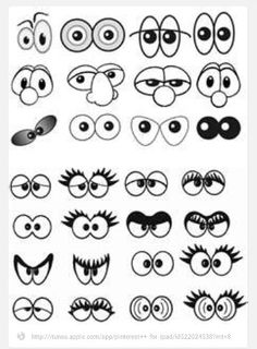 Amazing Learn To Draw Eyes Ideas. Astounding Learn To Draw Eyes Ideas. Art For Kids, Crafts For Kids, Arts And Crafts, Art Crafts, Drawing Tips, Painting & Drawing, Drawing Ideas, Diy Painting, Cartoon Drawings