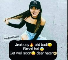 Trendy Funny Quotes About Friendship Bff Lol Friends 46 Ideas Hair Quotes, Bff Quotes, Girly Quotes, Friendship Quotes, Smart Quotes, Hindi Quotes, Funny Attitude Quotes, Attitude Quotes For Girls, Girl Attitude