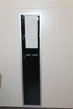 Silvolde badkamer toiletborstel opbergsysteem badkamers pinterest toiletborstel badkamer - Mooie eigentijdse badkamer ...
