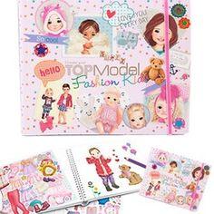 Album coloriage Les bébés Top model KONTAKT CHEMIE - Jeux créatifs