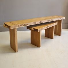 Large Classic Bench | Benches | The Oak & Rope Company