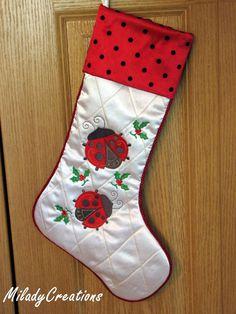 Ladybug Stocking