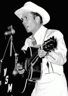 Hank Williams---- He soothes the soul.