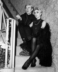 Soho fashions 1960's | Andy Warhol & Edie Sedgwick