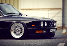 Stance Works - Jeremy's 1JZ-Swapped, Bagged, BMW e28