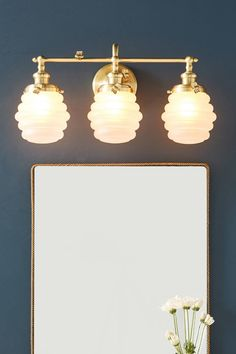 Bumblebee Vanity Sconce | Anthropologie