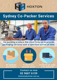 3 special benefits with Hoxton  Co-Packer Services in Sydney  #CoPackerServicesinSydney #SydneyPackaging