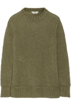 Fendi | Mohair and silk-blend sweater | Knit Inspiration