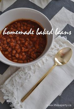 A few years ago, we were at ribfest, and my husband ordered ribs that came with a side of baked beans. I didn't dislike baked beans, but they weren't on my fav. list either. Until, I tried homemade ones. They were sweet and spicy and awesome. Since ribfest is only once a year, it seemed …