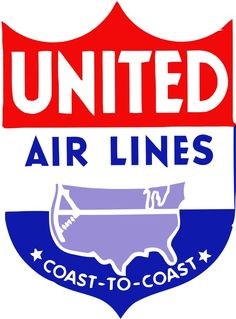 Logotip de United Air Lines (1939 - 1940s)