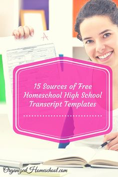 Making a Homeschool High School Transcript and Plan does not have to cost you anything. Several sites offer free resources for planning,…
