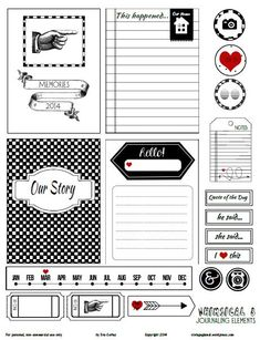 Whimsical Journaling Elements