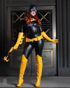 Meanwhile in Gotham by Pokypandas on - COSPLAY IS BAEEE! Tap the pin now to grab yourself some BAE Cosplay leggings and shirts! From super hero fitness leggings, super hero fitness shirts, and so much more that wil make you say YASSS! Dc Cosplay, Batgirl Cosplay, Batman And Batgirl, Superhero Cosplay, Marvel Cosplay, Cute Cosplay, Amazing Cosplay, Cosplay Outfits, Best Cosplay