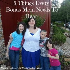 Mandy shares about being a Bonus Mom - and gives some encouragement to moms who find themselves in that role