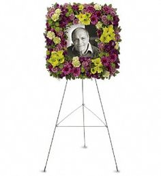 This would be a beautiful way to display a gorgeous portrait of grandma.