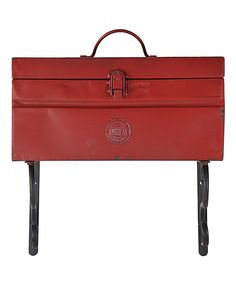 Look at this Red Toolbox Planter on #zulily today!