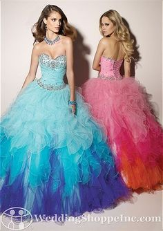 That is a wow ball gown prom dress!!! Could be a knock out Quinceanera dress too!! Paparazzi by Mori Lee prom dress 91001