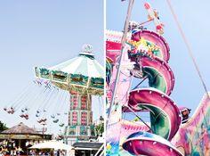 Les attractions classiques et incontournables de toutes les fêtes foraines 2013 à Paris et partout ailleurs : manèges de chevaux de bois 1900 et carrousels.