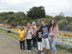 Portsmouth English Language School students visit Southsea Castle