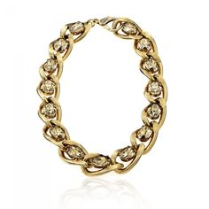 Gold and Golden Shadow Necklace from JANIS SAVITT