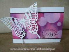 Schmetterling, Bokeh Technik, Stampin up, www.meinekreativwerkstatt.bastelblogs.de