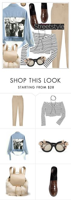 """""""Street style"""" by teoecar ❤ liked on Polyvore featuring Theory and Alice + Olivia"""
