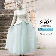 Tesettürlü Abiye Elbise Sipariş Vermek İçin Whatsapp: 90 507 651 3656 Beden: 38-40-42-44-46 Ürün kodu: 7068MINT http://ift.tt/1t9jj4V  #hijab #fashion #tesetturgiyim #tesetturisland #tesetturmodası by tesetturisland
