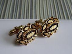 Christian Dior Cufflinks HIGH END Fancy Signed Cuff links Flower + FREE WRAP #ChristianDior