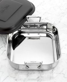 all-clad lasagna pan, stainless steel