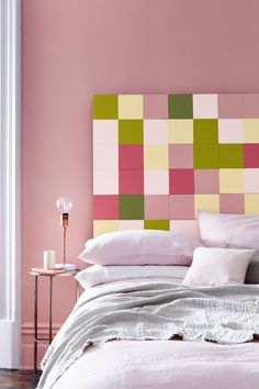 Hellebore 275, Olive Colour 72, Carmine 189, Citrine 71, Lemon Tree 69, Pink Slip 220 & Loft White 222