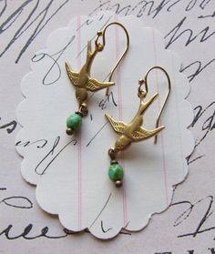 bird earrings etsy jewelry