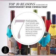 What makes us different? Exclusive, limited-release wines, handcrafted with passion in the pursuit of perfection!