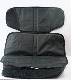 Munchkin Auto Seat Protector With Storage Pocket Black #Munchkin