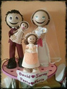 Familia completa boda