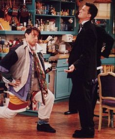 Could I BE wearing anymore clothes?!? #friends love this episode