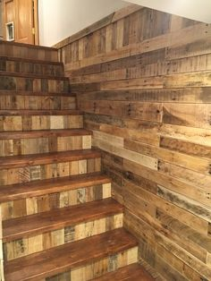 Pallet Wall And Risers
