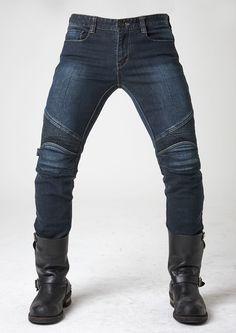 uglyBROS USA 2Slub-K • DuPont™ KEVLAR ® reinforced liners • Elastic shirring knee & waist-lower back panels • CE approved Removable knee & hip protectors