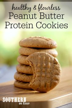 Recipe: Healthy Peanut Butter Protein Cookies