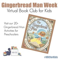 Gingerbread Themed Book Activities