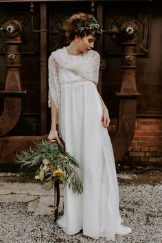 Shooting d'inspiration mariage - Thème Urban Botanic | Photographe : Flavie Nelly | Donne-moi ta main - Blog mariage
