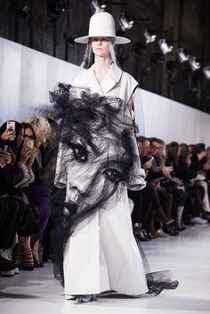 John Galliano's Maison Margiela Couture Show Gave Fashion People Life Photos | W Magazine