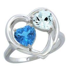 https://ariani-shop.com/14k-white-gold-heart-ring-6mm-natural-swiss-blue-topaz-aquamarine-diamond-accent-sizes-5-10 14K White Gold Heart Ring 6mm Natural Swiss Blue Topaz & Aquamarine Diamond Accent, sizes 5-10
