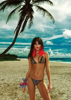 Morena Rosa   the Top Model Isabeli Fontana Presented the Newest Swimsuit  Trends. Fashion Motivation 32aeee6654