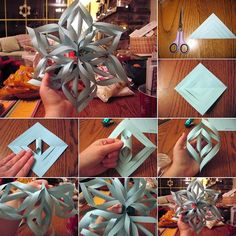 How About Trying This 3D Paper Snowflake? - http://www.amazinginteriordesign.com/trying-3d-paper-snowflake/